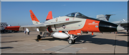 165210 - F/A-18C of VX-9 based at Naval Air Weapons Station China Lake