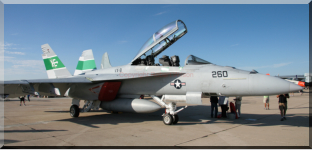 166791 - XE-260 - F/A 18F of VX-9 based at Naval Air Weapons Station China Lake