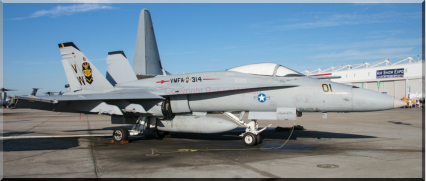 162400 - VW-01 - F/A-18A of VMFA-314 based at Marine Corps Air Station Miramar