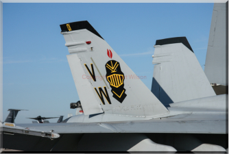 Tail of 162400 - VW-01 - F/A-18A of VMFA-314 based at Marine Corps Air Station Mirimar