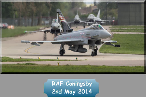 RAF Coningsby  2nd May 2014