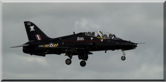 Javelin 98 arriving at RAF Coningsby
