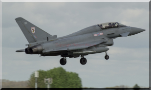 Chaos 22 returning to RAF Coningsby