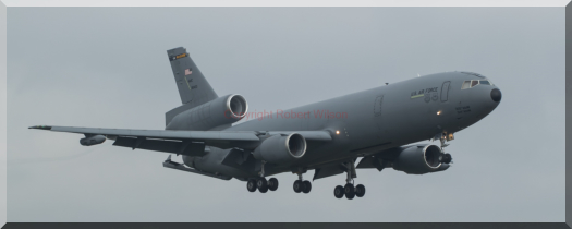Reach 457 arriving at RAF Mildenhall