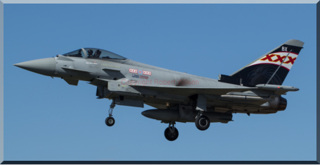 Gunfighter 83 coming into land at Coningsby