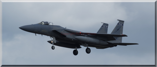 Fang 01 on approach to RAF Lakenheath